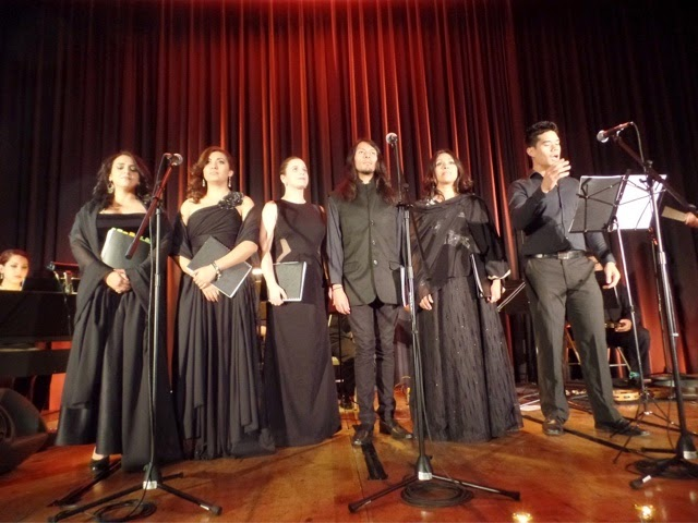 Ensamble Vocal del CECUT Opera Ambulante